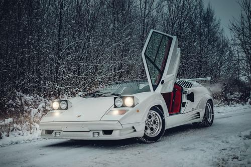 Lamborghini's 1991 Countach Heads To Auction For Over $360K ...