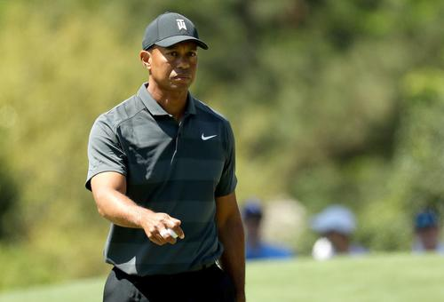 505387ce Tiger Woods is back at The Masters for the first time since 2015, but  things didn't go exactly as planned on day one. Woods finished the first  round tied ...