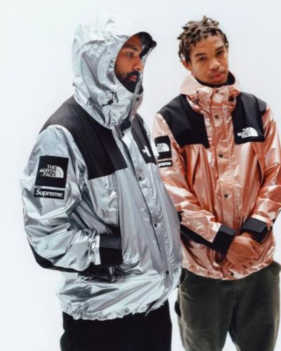 Supreme The North Face Go Metallic For Their Spring 2018