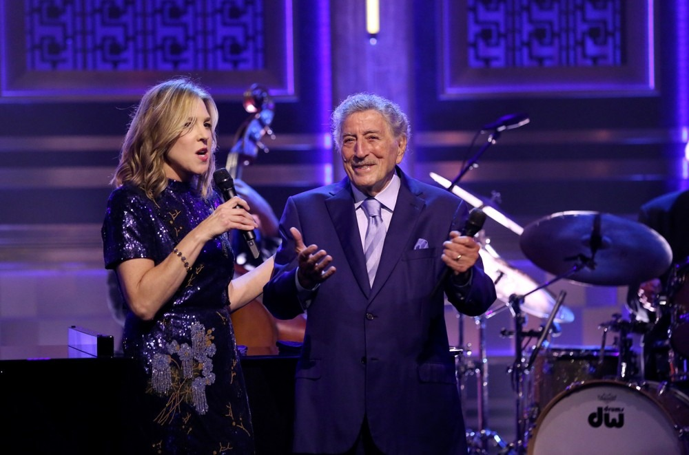 Tony Bennett and Diana Krall Deliver a 'Wonderful' Duet On 'Fallon