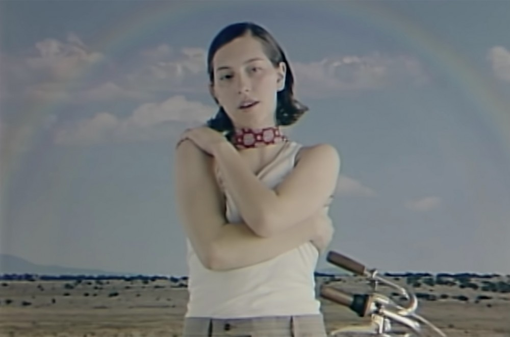 king princess goes to green screen heaven in funky new watch