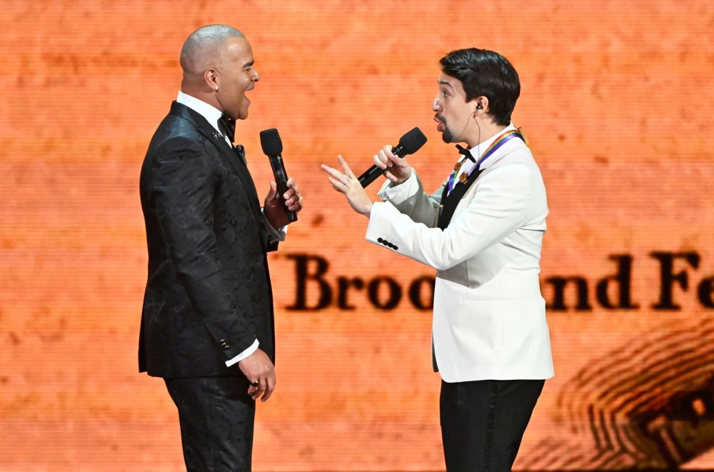 Lin Manuel Miranda More Hamilton Cast Members Reunite For Kennedy Center Honors Performances Watch