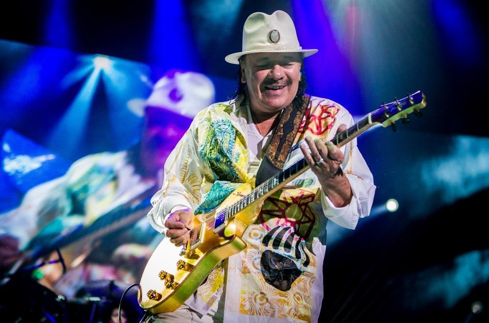 Carlos Santana Announces 2019 'Supernatural' North American