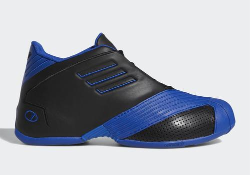 new style 39734 4ac95 Tracy McGrady s Adidas T-Mac 1 shall be returning to retailers subsequent  Friday, March 1 in an Orlando Magic-friendly black and royal blue colorway.