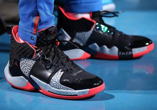 1e25ebc1395 Over the previous few weeks, we have been seeing increasingly of Russell  Westbrook's signature Jordan Why Not Zer0.2 sneaker. The Nintendo and Super  Soaker ...