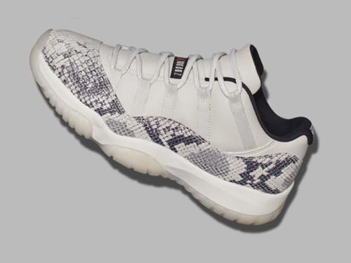 Air Jordan 11 Low Snakeskin Light Bone In The Works