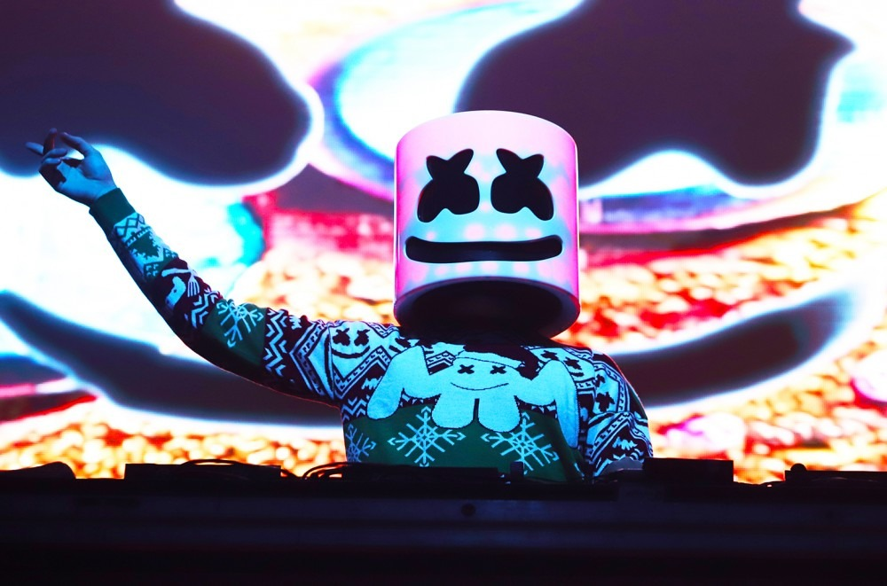 Genre-Hopping Marshmello Collabs with Kane Brown and Cardi B