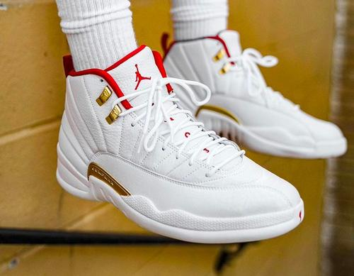 brand new f385b 9bea5 Air Jordan 12 FIBA Releases Today: Purchase Links