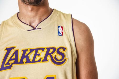 purchase cheap c3d65 a0b08 Mitchell & Ness Release Exclusive Gold Kobe Bryant Jersey