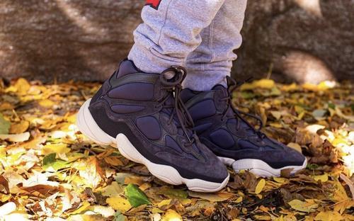 adidas Yeezy 500 High Slate FW4968 Release Date Sneaker