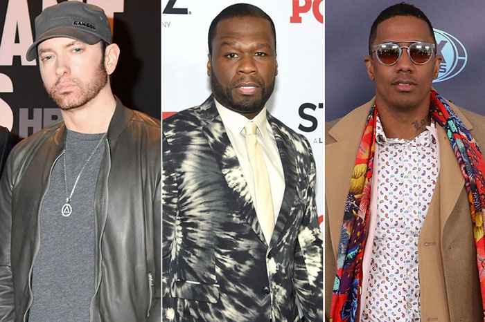 Eminem, 50 Cent Respond to Nick Cannon Diss Track